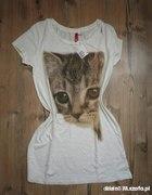 Bluzeczka z kotkiem HM