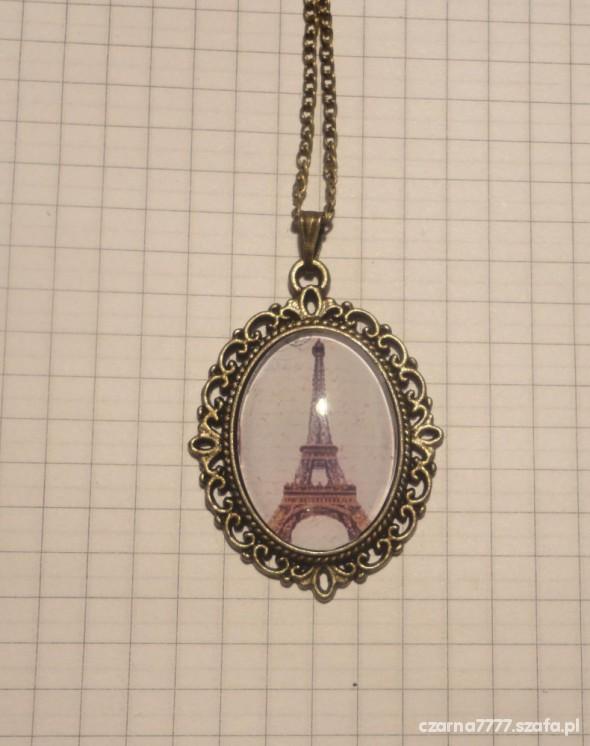 NASZYJNIK PARIS stare złoto