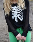 mint skeleton