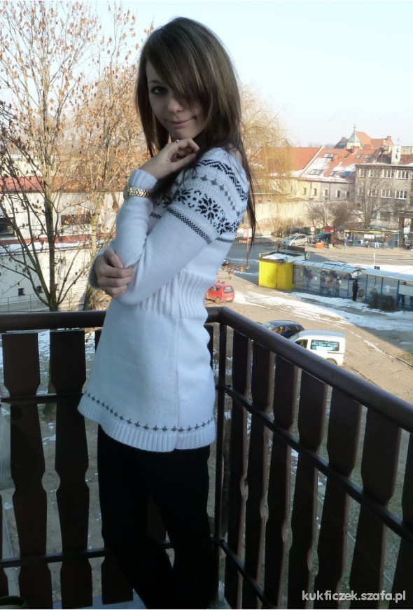 Mój styl Winter Sweater and Gold
