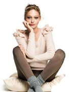 Sweterek H&M falbanki