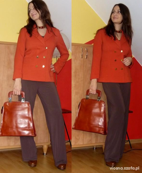 Do pracy szerokie spodnie 1