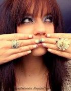 Kolorowy francuski manicure