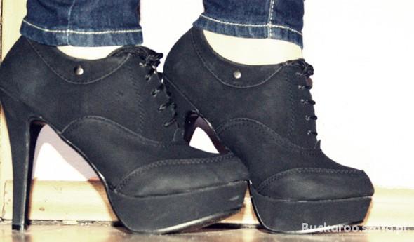 Czarne buciki