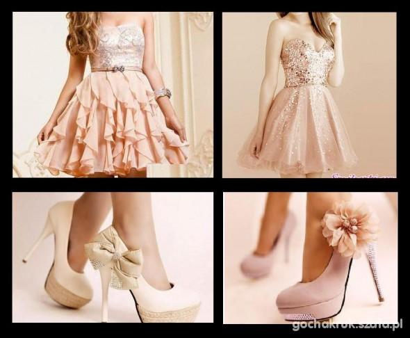 Romantyczne szpilki i sukienki