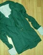 Zielony dresowy żakiet M NOWY