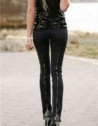 Czarne rurki zipy