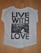 LIVE WITH LOVE tshirt