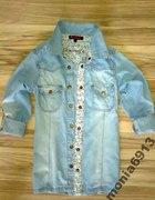 Jeansowa koszula z DENIM CUDNA