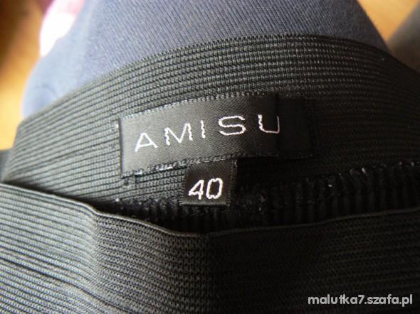 Spodnie legginsy AMISU wężowe