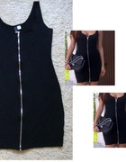 H&M zip dress stan IDEALNY