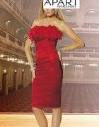 APART Suknia z piórami 38...