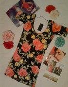 sukienka TUNIKA atmosphere FLORAL kwiaty kwiatki