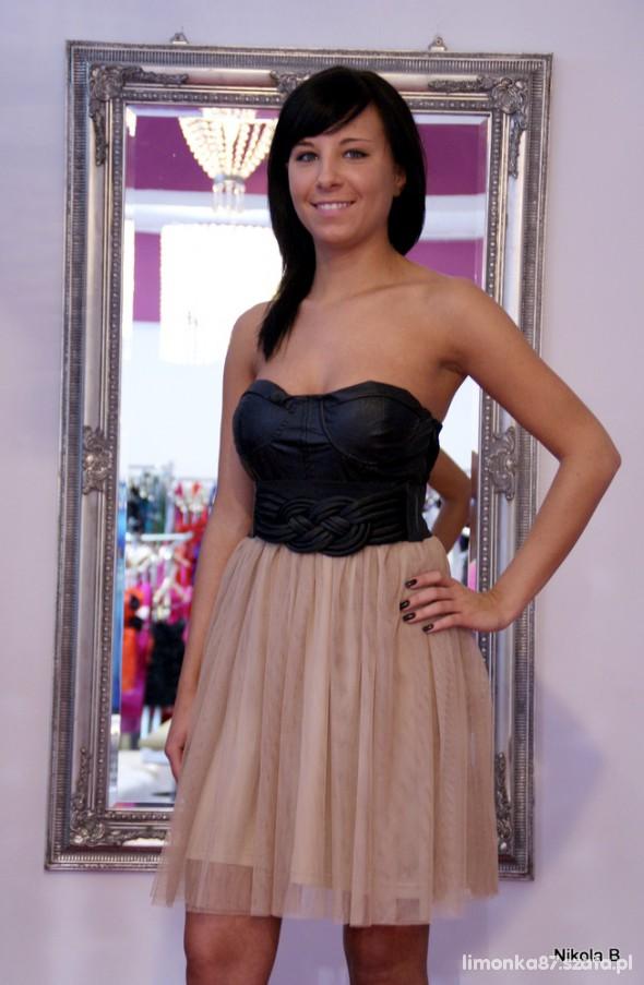 Eleganckie sukienka tiul