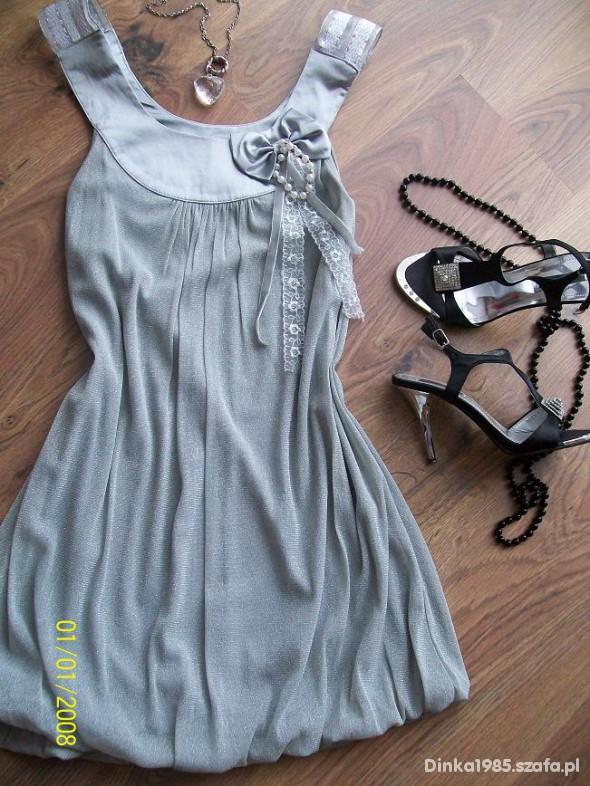 Na specjalne okazje Piękna romantyczna sukienka tunika