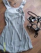 Piękna romantyczna sukienka tunika...