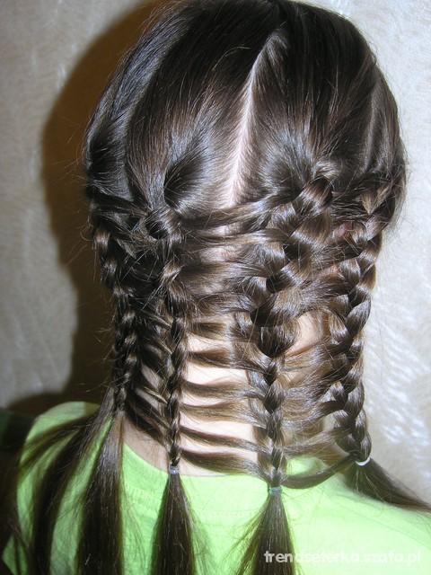 Warkocz Dla Majacych Mało Włosów W Fryzury Szafapl