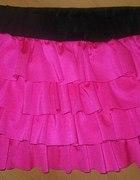 Różowa mini