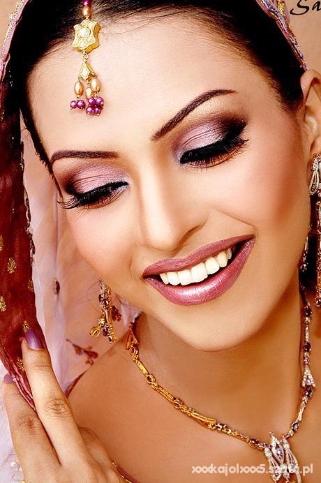 Bollywoodzki Makijaż W Fryzury Szafapl