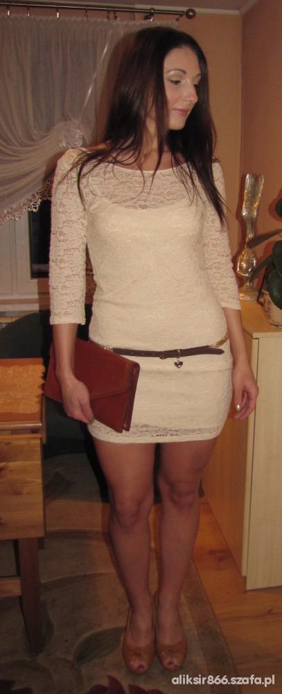 Mój styl Koronkowa sukienka w akcji