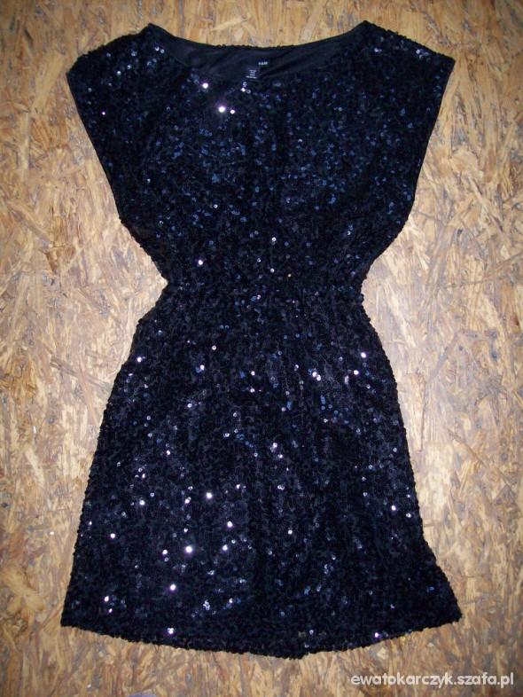 0ab5838f23 Sukienka HM cekinowa czarna w Suknie i sukienki - Szafa.pl