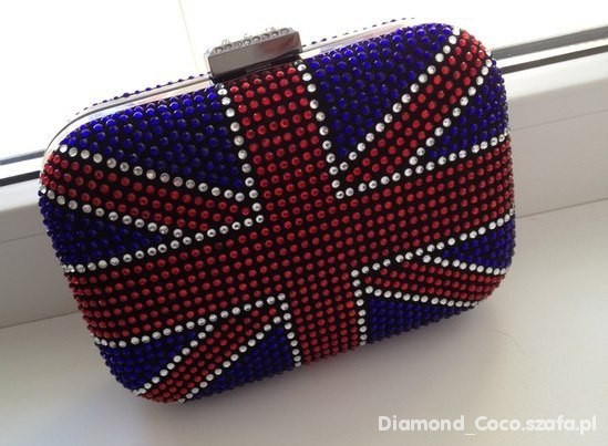 British flag purse