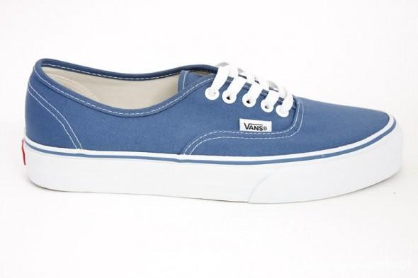 niebieskie vansy