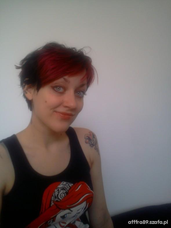 moja nowa super krótka fryzura