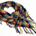 Apaszka Arafatka Tęczowa Żółty