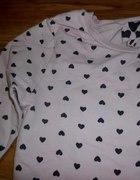Bluza w serduszka