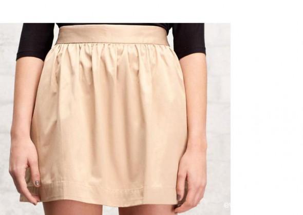 Spódnice Kloszowana spódnica z kieszeniami