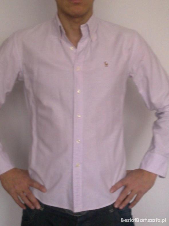 koszula jasny róż Ralph Lauren