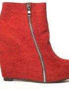 koturny czerwone stylowebutkipl rozmiar 37