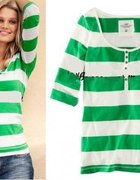 bluzka w paski H&M...