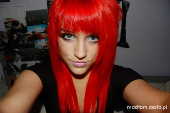 Czerwone Włosy W Fryzury Szafapl