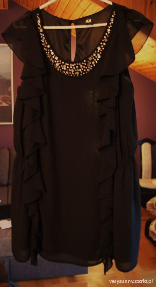 Czarna elegancja z H&M duża