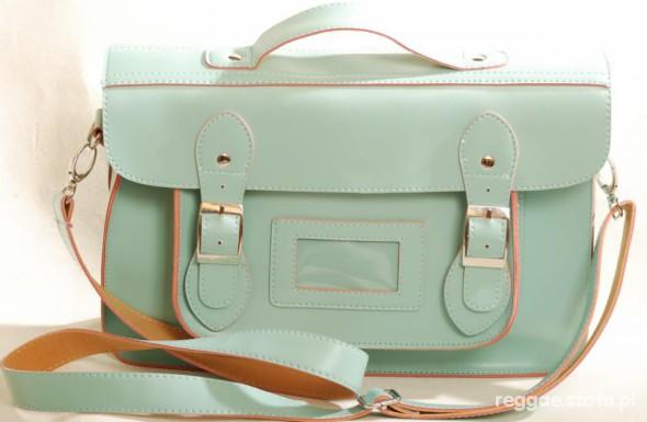 Miętowa satchel