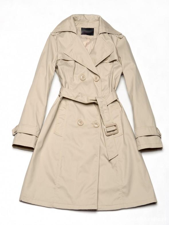 Odzież wierzchnia Elegancki klasyczny płaszcz M 38 trencz