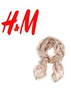 Chusta H&M pastelowałososiowa i wiosenna...