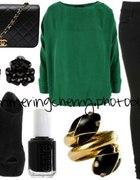Zielono czarne...