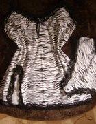 Piżamka komplecik zebra