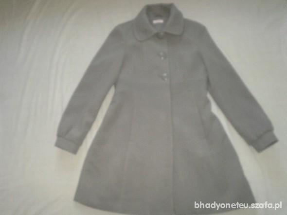 popielaty płaszcz Orsay r 38