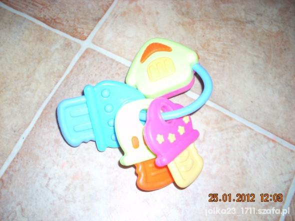Zabawki Kluczyki grzechotka i gryzak zarazem