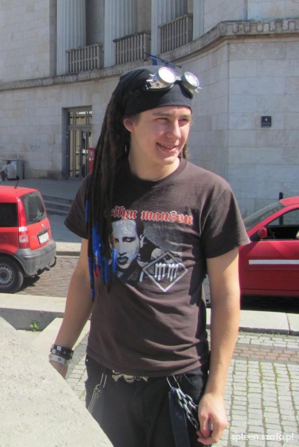 Mój styl Marilyn Manson fan
