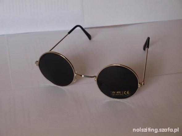 okulary lenonki lennonki czarne