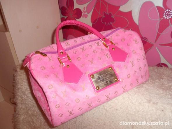 Torebki na co dzień Louis Vuitton Różowy Kuferek