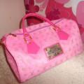 Louis Vuitton Różowy Kuferek
