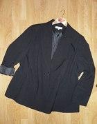 AMANDA ROTH modna czarna marynarka 52 54