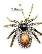 Gotycki naszyjnik w stylu retro Pająk Tarantula