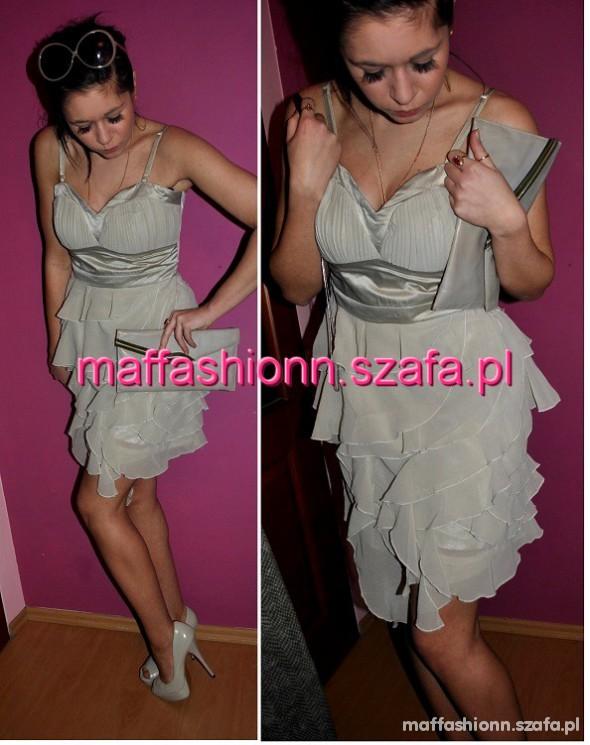 NOWA sukienka LIPSY jak ASOS falbanki